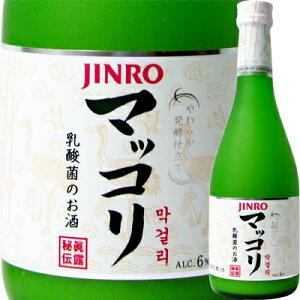 JINRO(ジンロ) マッコリ 瓶 375ml【韓国焼酎でおなじみの眞露から登場】<父の日 ギフト プレゼント Gift お酒>