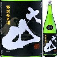 大山 特別純米酒 1.8L【清酒】<日本酒 1800 ソフトな辛口 ギフト プレゼント Gift 贈答品 内祝い お返し お酒 日本酒 ギフト 一升瓶 >