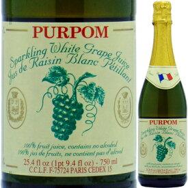 【ノンアルコールワイン】ピュアポム スパークリンググレープ ホワイト 750ml【クール便がオススメ】<ノンアルコールワイン ギフト プレゼント Gift お酒>
