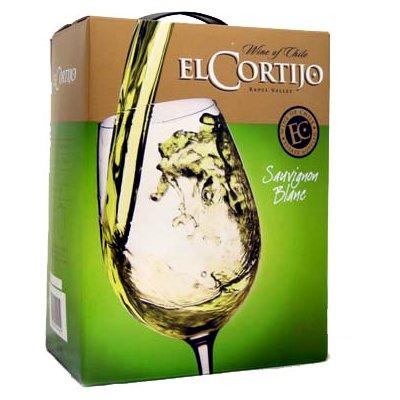 【大容量ボックスワイン】エルコルティホ ソーヴィニヨンブラン 3L(白ワイン)【クール便がオススメ】【酒】<ボックスワイン チリ ワイン 白 ギフト プレゼント Gift 贈答品 贈り物 結婚祝い 内祝い お酒 パック ボックス 箱>