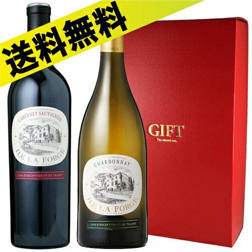 【送料無料】南フランス白赤ワインセット SUD-30【ワインギフト】【厳選】【ワイン セット】<ホワイトデー お返し 赤ワイン 白ワイン 赤白セット ワインセット ギフト Gift ワイン 結婚祝い 内祝い お酒 誕生日プレゼント 女友達>