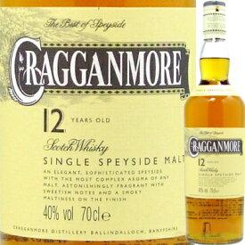 【スコッチ】クラガンモア 12年 700ml*【シングルモルトウィスキー】<ウイスキー お酒 父の日 ギフト プレゼント Gift 贈答品 内祝い お返し お酒>