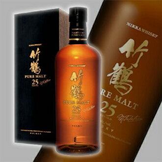 Nikka taketsuru pure malt aged 25 years 700 ml < liquor gift gifts >