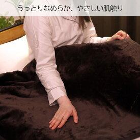 【送料無料】 広電 フランネル 電気しき毛布 CWS551-NB うっとり なめらか やさしい肌触り 落ち着きのあるブラウンカラー 電気暖房