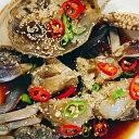 【冷凍便】伝統 カンジャンケジャン 500g 甘い生のカニ 信濃 特製 醤油 ケジャン カニ 蟹 かに わたりかに 手作り 無添加 本場の味 国内生産