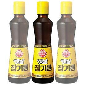 オットギ 昔の ごま油 320ml 100% 1本 韓国 食品 料理 調味料 胡麻油 食材 韓国ゴマ油ランキング1位 オットギ