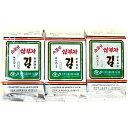 【送料無料】ホンへ 三父子 サンブジャ 海苔 お弁当用 3個入りX24袋 三父子 韓国 のり ふりかけ さんぶじゃ サンブザ