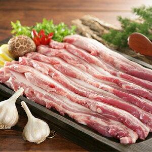 【冷凍便】高級 豚バラ 6mm 1kg ハンガリ産 お肉 豚肉 焼肉 バーベキュー BBQ 韓国 食品 食材 料理