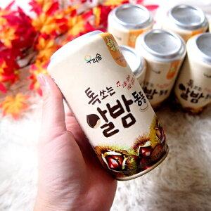 ウリスル しゅわっと 微炭酸 缶 マッコリ 栗 350ml 6度 1缶 韓国 食品 食材 料理 発酵 お酒 乳酸菌 伝統酒 果物 カクテル