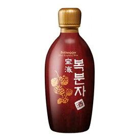 ボヘ ボクブンジャ酒 覆盆子 375ml 1本 14度 甘くて呑みやすい ブラックラズベリー 韓国 食品 食材 米酒 酒