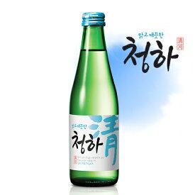 清河 チョンハ 焼酎 300ml 1本 13度 甘口で飲みやすい 韓国 食品 食材 米酒 酒 お酒 韓国酒