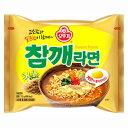 オットギ チャムケラーメン 115g x 5袋 韓国 食品 料理 食材 インスタント ラーメン 乾麺 非常食 ゴマ薫るラーメン 胡麻 ゴマ