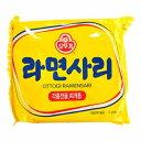 オットギ ラ−メン サリ 110g x 5袋 韓国 食品 料理 食材 インスタント ラーメン 乾麺 非常食 麺のみ ブデチゲなどに使えます