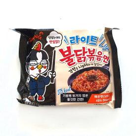三養 ライト ブルダック麺 5袋 ノンフライング 韓国 食品 食材 料理 お土産 ラーメン 乾麺 インスタントラーメン プルタック ブルタック プルダッグ ブルダッグ ぶるだっく