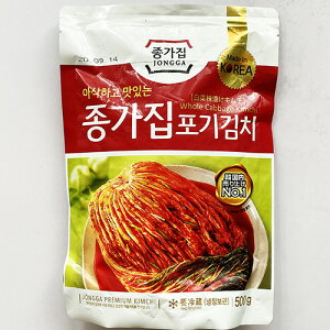 【送料無料】韓国 宗家 白菜 キムチ 500g x 3袋 白菜キムチ 韓国 食品 食材 料理 おかず おつまみ