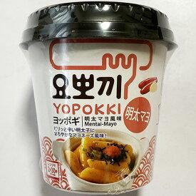 【送料無料】即席 ヨッポキ 明太マヨ トッポギ 118g x 6個 カップ トッポキ トッポギ トッポッキ トッポキ インスタント おやつ 韓国 食品 簡単