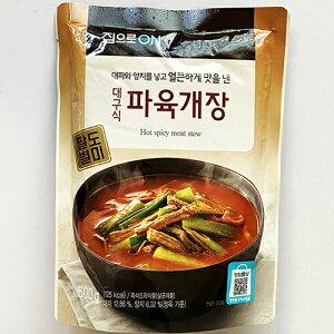 ジブロ 大邱式 ユッケジャン スープ 500g 韓国 食品 食材 料理 レトルト 非常食 保存食 ほっとひと息 田舎味