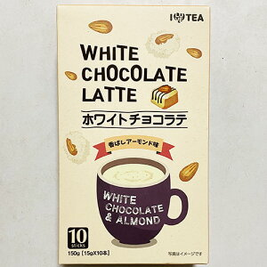 ILOVETEA ホワイト チョコ ラテ 10本入(150g) x 3箱 韓国 お茶 食品 食材 韓国茶 1杯用包装