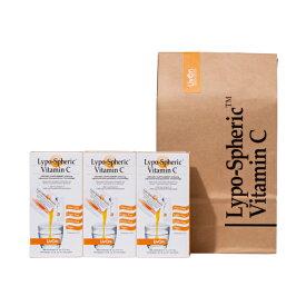 【公式通販:安心の国内配送!】3箱セット リポスフェリック ビタミンC LivOn社推奨 リポソーム ビタミンC サプリメント