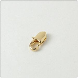カニカン 10mm 5個セット ゴールドハンドメイド/DIY クラスプ 金具 材料 素材【メール便対応】【ハンドメイドパーツ ビーズ ピアス】