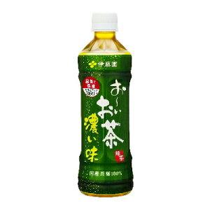 お〜いお茶 濃い味 PET 500ml×24