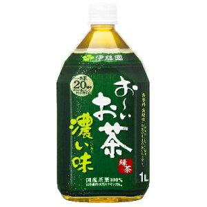 お〜いお茶 濃い味 1L ×12本