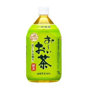 お〜いお茶 緑茶 PET M1L(ミドル)×12