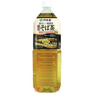 香ばしい健康茶 そば茶 PET 2L×6