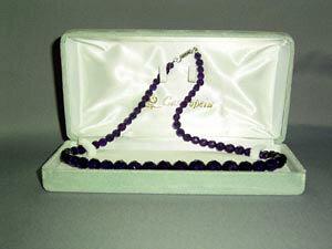紫水晶60面カットネックレス M(40cm)【smtb-k】【w3】