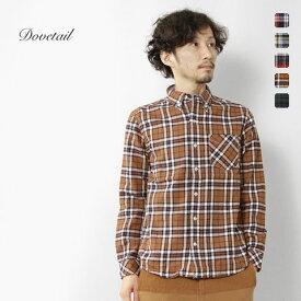 【70%オフ】Dovetail - ダブテイル -ツイル チェック ボタンダウンシャツ★★◆◇**