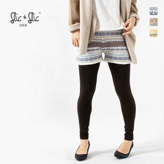 SLIC-Slic - slick slick - Jacquard knit shorts ☆ ☆ ◆ ◆ * *