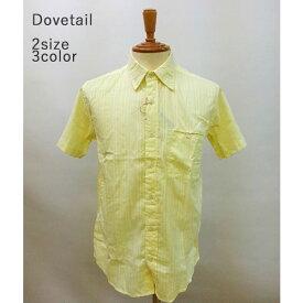 【74%オフ】Dovetail - ダブテイル -半袖 刺繍カラーシャツ