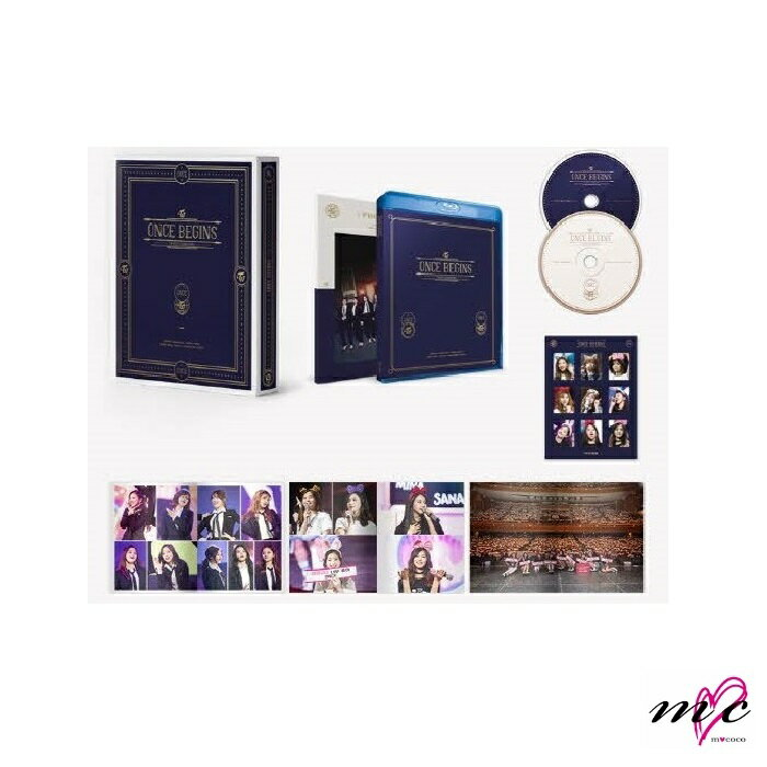 TWICE 公式グッズ 【Fanmeeting ONCE BEGINS】Blu-ray |K-POP
