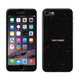 iPhone8 ケース iPhone7 ケース 保護シール 背面シール プロテクター BLACK BY MOUSSY ブラックバイマウジー Gizmobies ギズモビーズ 「BLACK」