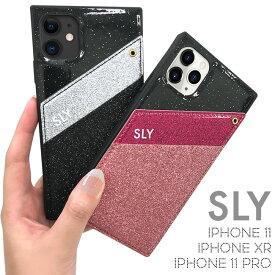 iPhone11 ケース iPhoneXR ケースiPhone11Pro ケース SLY「ラメマグネットケース」スライ マグネット ブランド ラメ アイフォン11 iphone11 pro ケース スマホケース おしゃれ かわいい