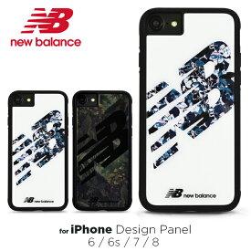 iPhoneSE 第2世代 iPhone8 ケース iPhone7 ケース new Balance ニューバランス iPhone6s iPhone6 ケース「デザインパネルケース」アイフォン8 ケース おしゃれ 可愛い 背面ケース iphonese2 スマホケース スポーツ ブランド