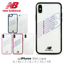 iPhoneSE 第2世代 iPhone8 ケース new balance ニューバランス TPU クリア ケース iPhone7 iPhone6s iPhone6 ケース「ハイブリッドクリアケース」透明 iphone ケース アイフォン8 ケース スポーツ ブランド