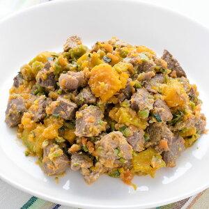 手作り 犬 ごはん 鹿肉とかぼちゃの煮物 100g入