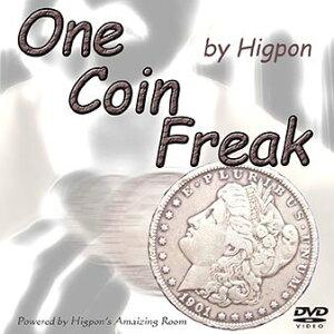 【手品・マジック】One Coin Freak スライハンドマジック 【DVD】