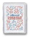 【トランプ】BE@RBRICK CLEAR&SOLID PLAYING CARDS≪ベアブリック クリア&ソリッドトランプ≫