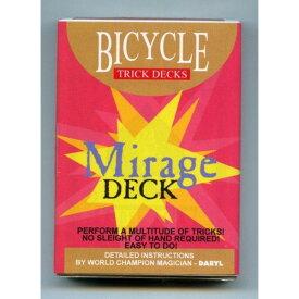 【手品・マジック】 【トリックカード】BICYCLE MIRAGE DECK(バイスクル ミラージュデック)【ネコポス対応可】