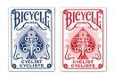 【トランプ】 BICYCLE CYCLIST BLUE/RED≪ バイスクル サイクリスト 青・赤 ≫【ネコポス対応可】