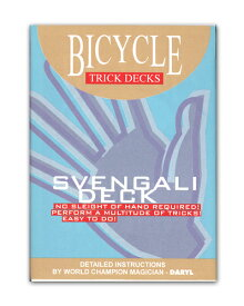 【手品・マジック】 【トリックカード】BICYCLE SVENGALI DECK(バイスクル スベンガリデック)【ネコポス対応可】