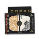 【トランプ】【ポーカー】COPAG PLASTIC POKER SIZE Gold/Black(コパッグ ポーカーサイズ ゴールド/ブラック)