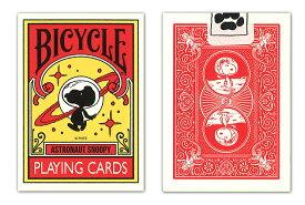 【トランプ】BICYCLE ASTRONAUT SNOOPY ≪ バイスクル アストロノーツ スヌーピー ≫【ネコポス対応可】