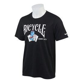【トランプ】ARENA × BICYCLE T SHIRTS BLACK ≪ アリーナ × バイスクル Tシャツ ブラック ≫【ネコポス対応可】