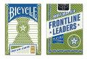 【トランプ】 BICYCLE FRONTLINE LEADERS ≪バイスクル フロントライン リーダーズ≫【ネコポス対応可】