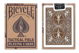 【トランプ】 BICYCLE TACTICAL FIELD V2 BROWN ≪バイスクル タクティカルフィールド V2 茶≫【ネコポス対応可】