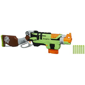 ナーフ 海外モデル オレンジトリガー スリングファイアブラスター ゾンビストライク Nerf Zombie Strike SlingFire A6563 並行輸入品 【レバーアクション スイングレバー フリックコック】