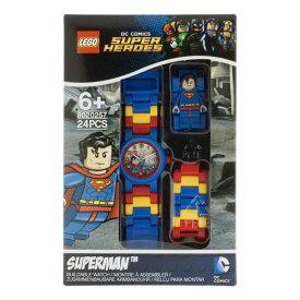 腕時計 スーパーマン スーパーヒーローズ LEGO レゴウォッチ 8020257 並行輸入品【メール便/送料無料】